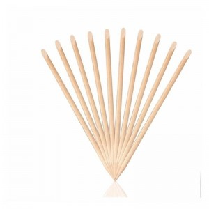 Rosewood manicure sticks for cuticle - Pusher 100 pcs.